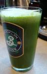 Kale, celery, apple, ginger.